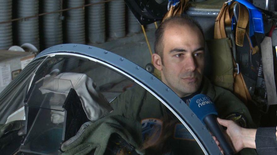 Estos son los pilotos militares griegos distinguidos por la OTAN
