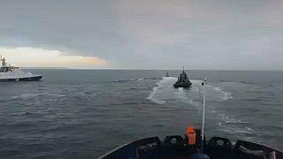 Watch: Russian vessel rams Ukraine boat