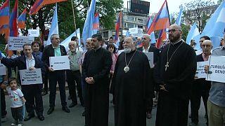 Video | G20: Arjantinli Ermeniler Erdoğan'ı protesto etti