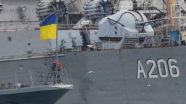 کشتی توقیف شده اوکراینی به دست روسیه