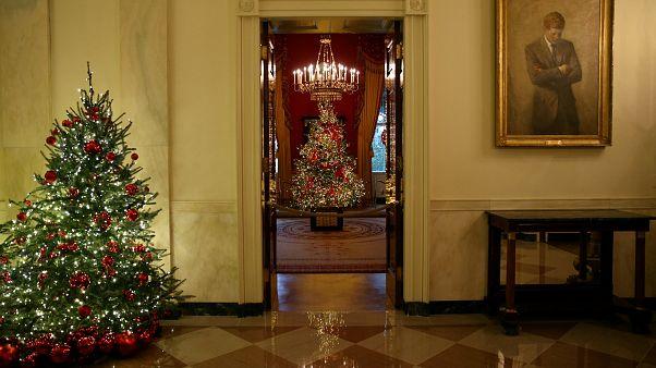 Η Μελάνια παρά...στόλισε τον Λευκό Οίκο!