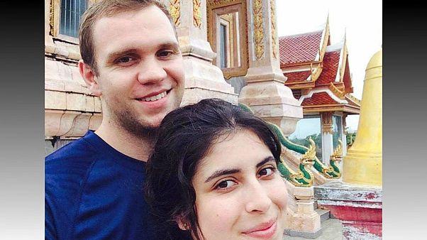 متیو هجز، دانشجوی بریتانیایی متهم به جاسوسی در امارات به همراه همسرش