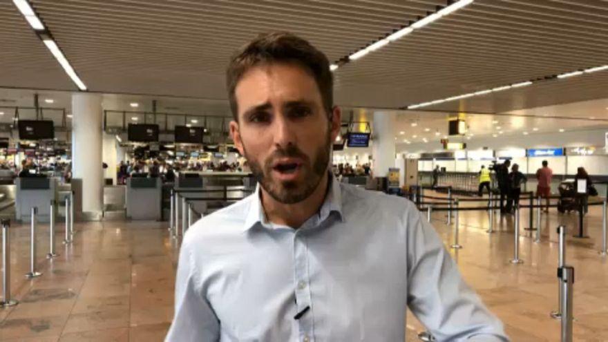 Catorce mil pasajeros afectados por la huelga de Ryan Air en Bélgica
