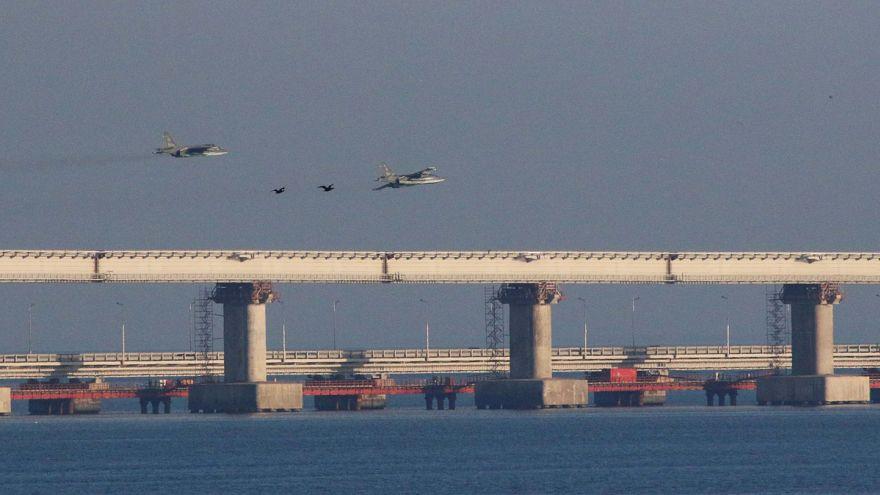 A Kercsi-szoros az Azovi-tenger verőere