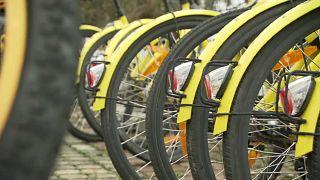 Chinesisches Erbe: Wiens herrenlose gelbe Räder