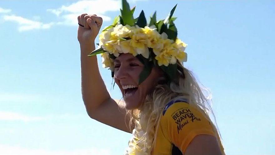 Surf : une septième couronne pour Stephanie Gilmore