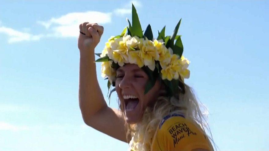 7. Weltmeister-Titel im Surfen: Gilmore holt historischen Sieg