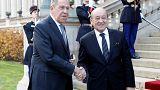 ПРЯМОЙ ЭФИР: глава МИД РФ Сергей Лавров на пресс-конференции в Париже