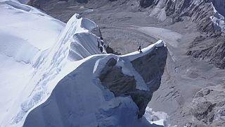 Avusturyalı dağcı Himalayaların daha önce hiç tırmanılmamış kısmına ulaştı