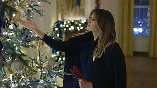 Melania, die Weihnachtsfee
