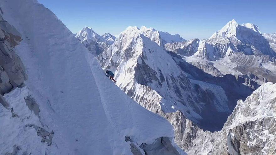 Ascension inédite dans l'Himalaya