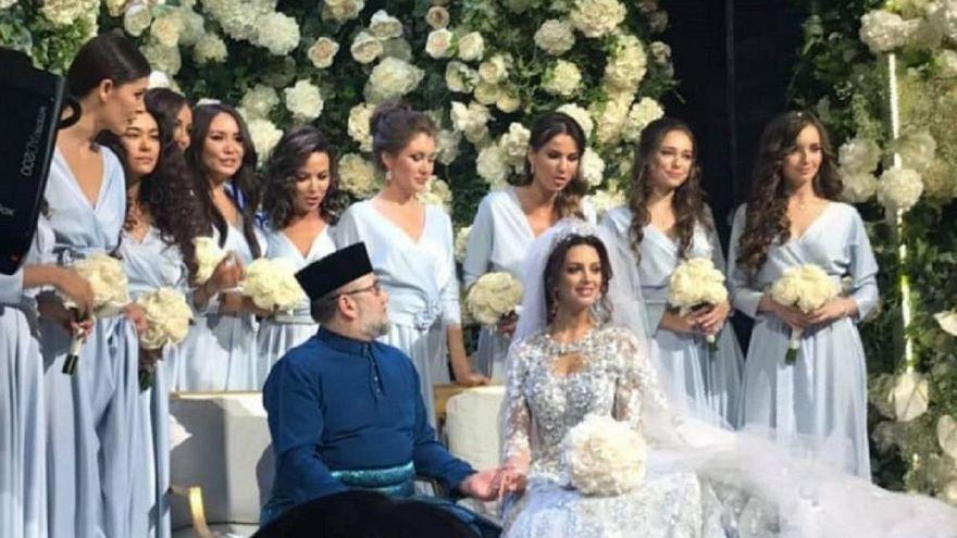 Güzellik Kraliçesi'ydi gerçek kraliçe oldu: Miss Moskova Müslüman olup Malezya kralıyla evlendi