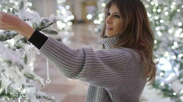 VİDEO | Beyaz Saray'da Noel hazırlıkları