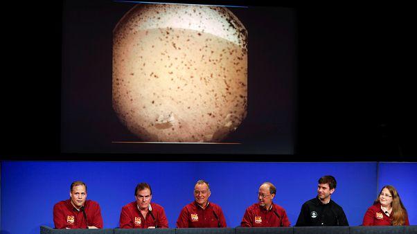 کاوشگر ناسا نخستین «سلفی» را از مریخ به زمین فرستاد