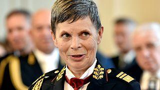 Szlovénia: vezérkari főnöknő