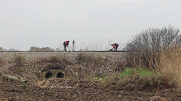 Τρένο πάτησε μετανάστες - Εικόνες φρίκης στη Ροδόπη