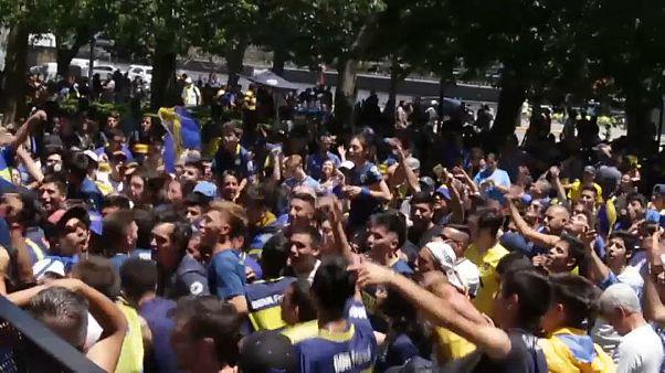 نقل نهائي كأس ليبرتادوريس إلى خارج الأرجنتين