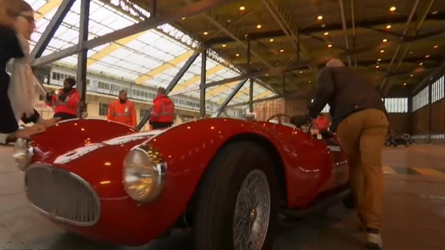 Pre-war classics unveiled before going under the hammer in Paris