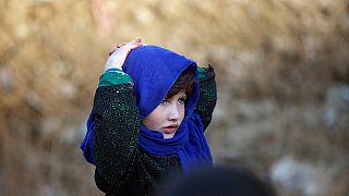 Herat'ta bir mülteci kampı