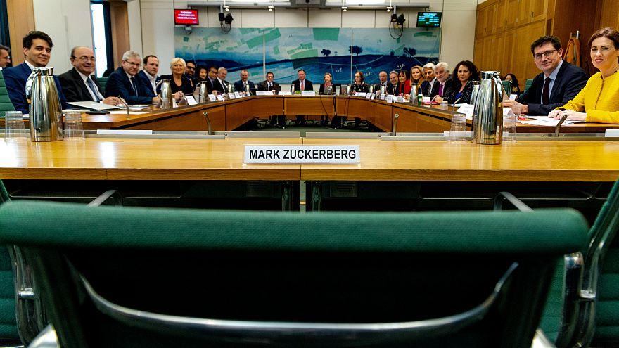 انتقادات حادة لزوكربرغ لتغيبه عن جلسة تحقيق بمجلس العموم البريطاني