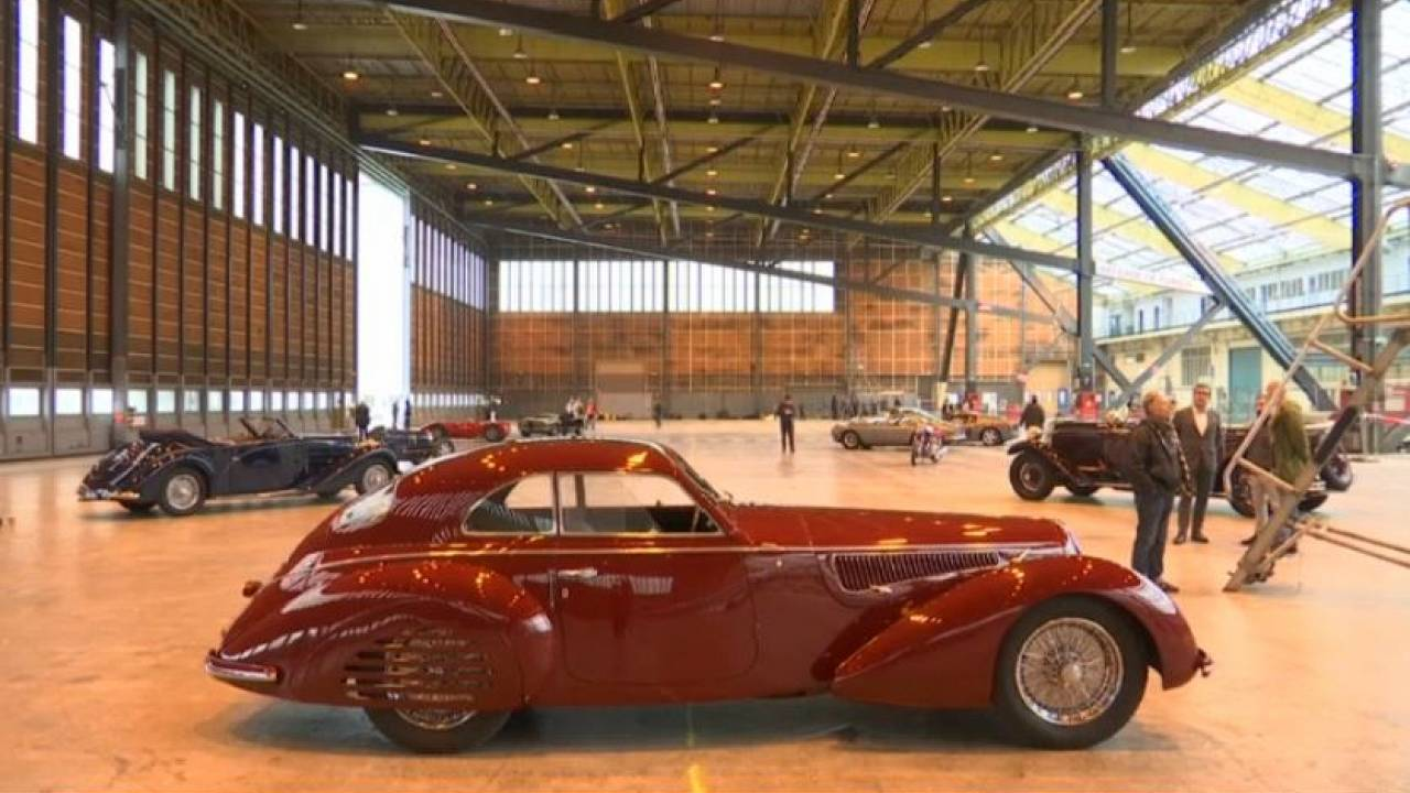 "Os sonhos sobre rodas do ""retromobile"" 2019"