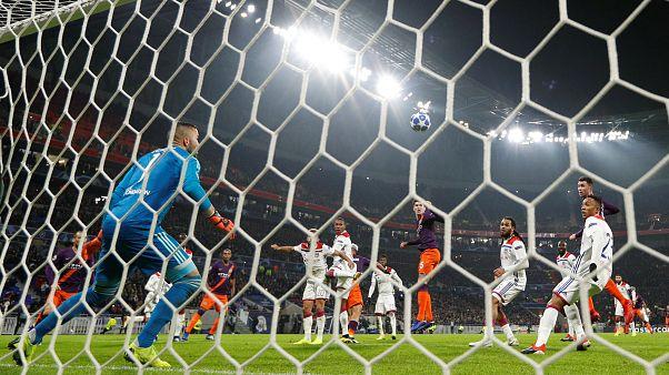 Ligue des champions : nul frustrant pour Lyon