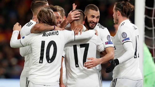 Cara y cruz para el Real Madrid y el Valencia en la Liga de Campeones