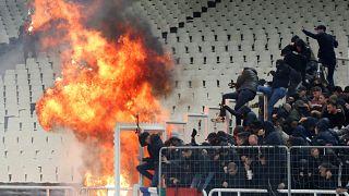 لیگ قهرمانان اروپا؛ یوفا در باره حوادث ورزشگاه آتن تصمیم گیری می کند