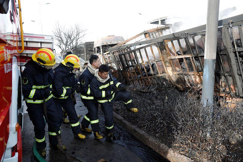 Chine: au moins 22 morts dans une explosion près d'une usine chimique