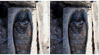 Mısır'da 3 bin yıl öncesine ait 8 mumya bulundu