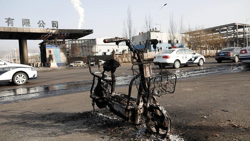 Çin'de kimya fabrikası yakınında patlama: 22 ölü, 22 yaralı