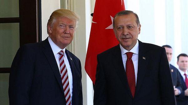 Erdoğan G20 Zirvesi'nde Trump ile ayaküstü görüştü