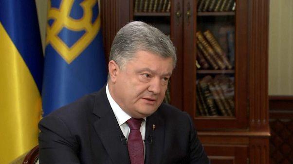 Poroşenko: Rusya ile yaşanan kriz geniş çaplı bir savaşa yol açabilir