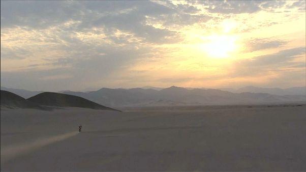 Le Dakar 2019 sur les dunes du Pérou