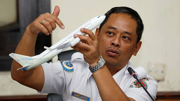 تلاش خلبانان هواپیمای لاینایر اندونزی برای کنترل هواپیما پیش از سقوط