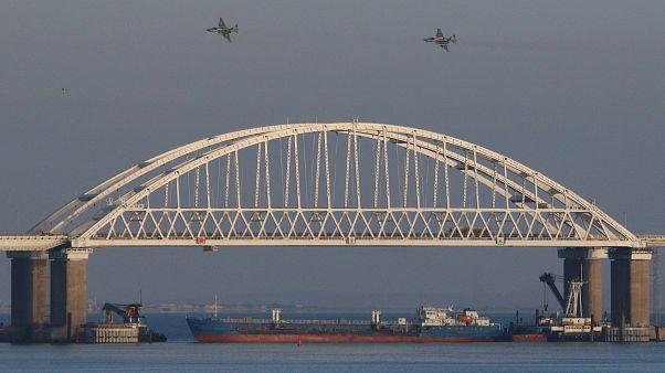 Ucrania pide a la OTAN que envíe barcos y aviones al mar Negro