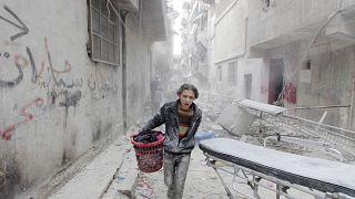 Alepo, uma cidade em reconstrução