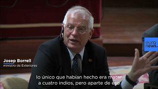 """[Vídeo] EEUU sólo mató """"cuatro indios"""" antes de la Independencia según ministro español"""