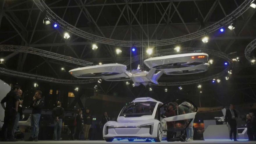 Το ιπτάμενο ταξί των Audi και Airbus!