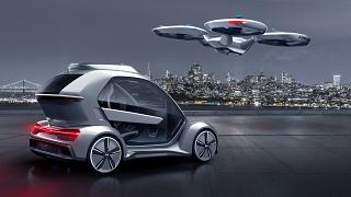 Video   Airbus ve Audi ortak drone araba projesini tanıttı