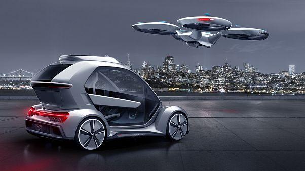 Video | Airbus ve Audi ortak drone araba projesini tanıttı