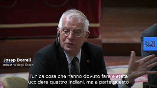 """Ministro spagnolo: """"Usa senza storia, prima dell'indipendenza hanno solo ucciso quattro indiani"""""""
