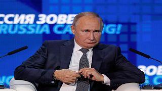 بوتين يتهم بوروشينكو بافتعال مواجهة بحرية لكسب مؤيدين له
