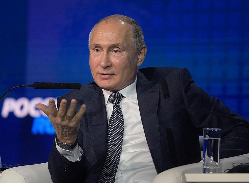Sputnik/Alexei Druzhinin/Kremlin vía REUTERS