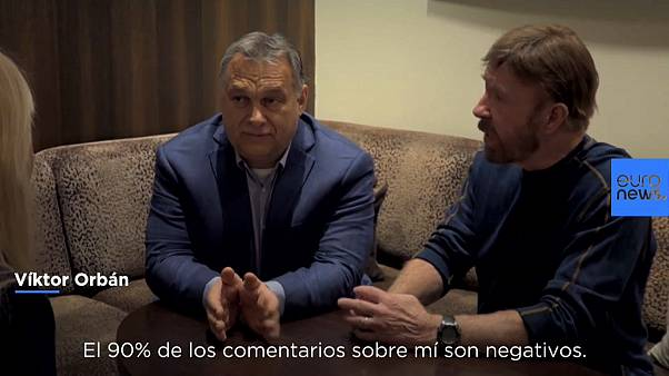 Chuck Norris aprueba el mensaje del primer ministro húngaro Víktor Orbán