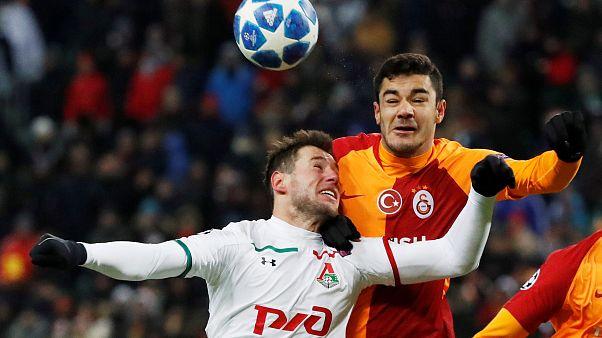 Lokomotiv Moskova'ya 2-0 yenilen Galatasaray UEFA Şampiyonlar Ligi'nden elendi