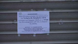 Sztrájk bénította meg Görögországot