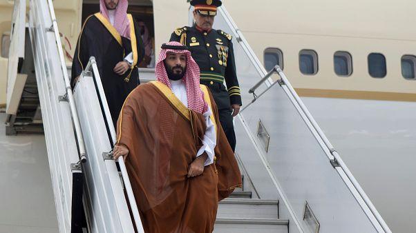 Suudi Veliaht Prens bin Selman G 20 toplantısı için Arjantin'e geldi