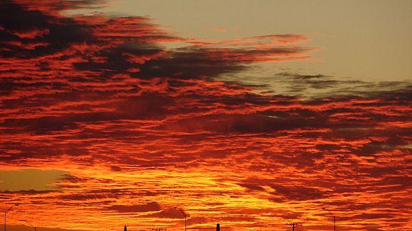 Almanya: Gün batımını yangın zanneden adam itfaiyeyi aradı