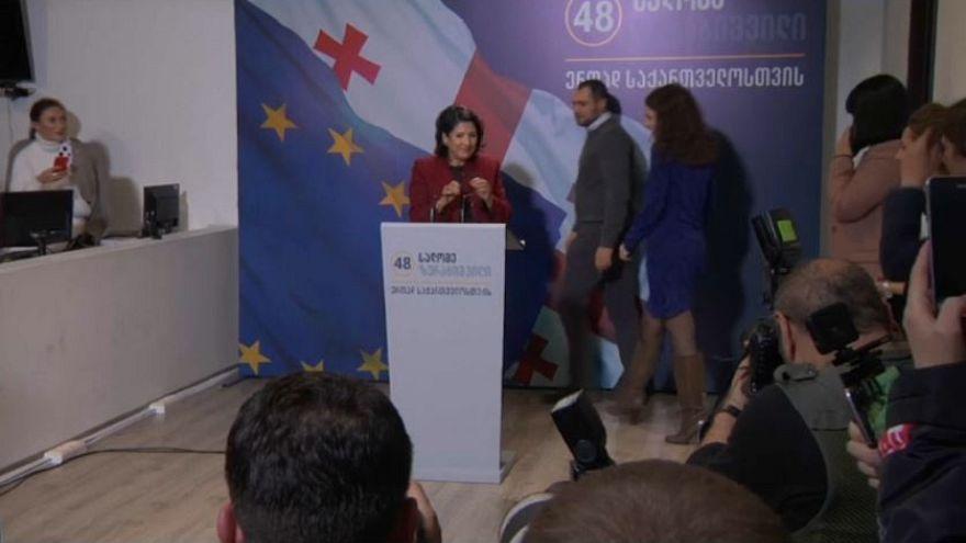 Salomé Zurabishvili gana las elecciones presidenciales en Georgia